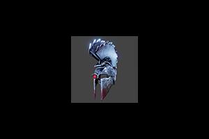 Sawblade Battle Helmet Steel