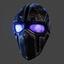 Devtac Ballistic Mask | Blue