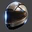 Motorcycle Helmet | Silver
