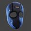 Justice Mask | Miami Blue