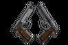 StatTrak™ Dual Berettas   Black Limba (Battle-Scarred)
