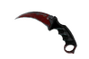 ★ Karambit | Crimson Web (Battle-Scarred)