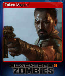Takeo Masaki (Trading Card)