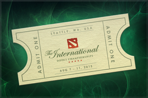 Buy & Sell The International 2013 Pass