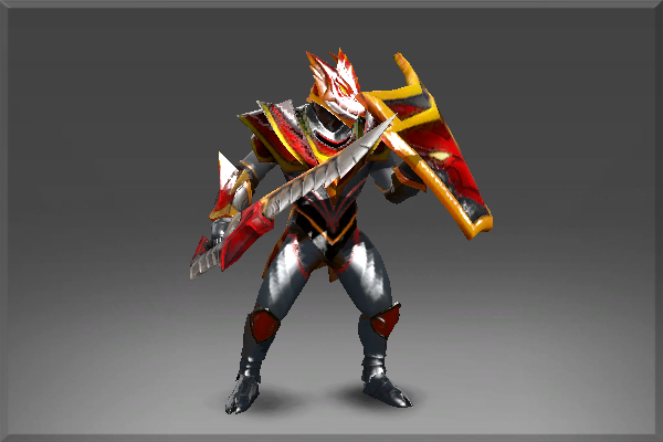 Buy & Sell Enchanted Plate of the Crimson Wyvern Set