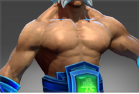 Inscribed Thundergod's Bare Chest