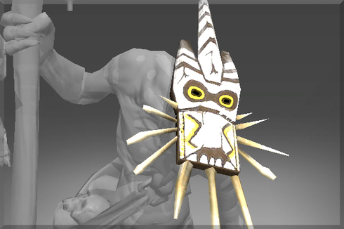 Autographed Tribal Totem Mask Prices