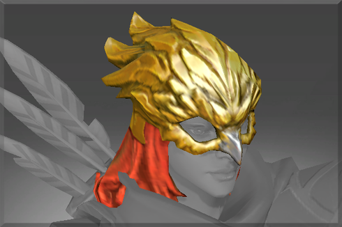 Buy & Sell Inscribed Gilded Falcon Helm