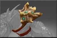 Auspicious Deep Warden's Conch Pauldron