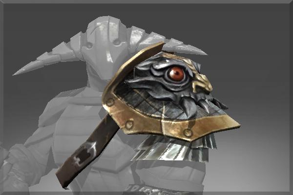 Pauldron of The Iron Drakken Prices