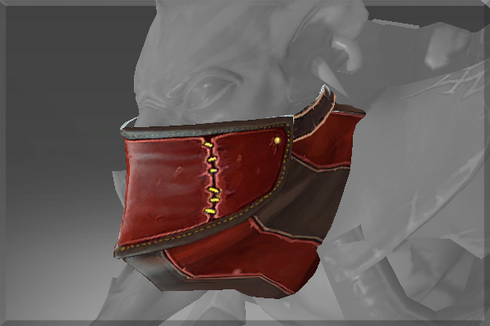 Buy & Sell Inscribed Mask of the Crimson Cut-throat