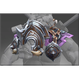Toxic Siege Armored Saddle image