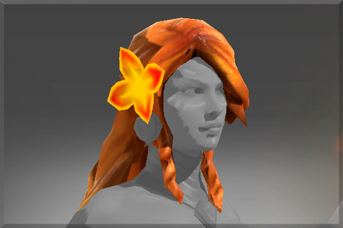 Heroic Braid of Fiery Curls Price