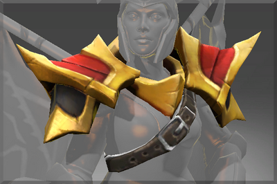 Compendium Arms of the Onyx Crucible Shoulders