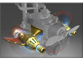 Inscribed Golden Atomic Ray Thrusters, Оружие, 204.95$