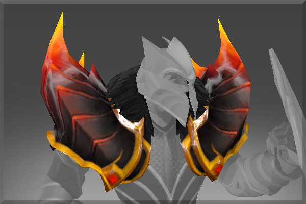 Buy & Sell Pauldrons of the Fire Dragon