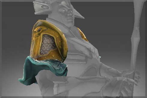 Inscribed Desert Gale Shoulder Plate Prices