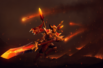 Загрузочный экран «Compendium Arms of the Onyx Crucible»