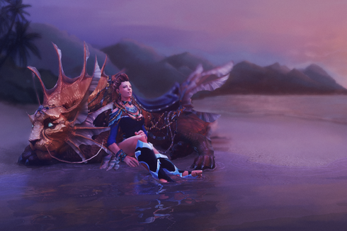 Buy & Sell Heiress of the Coastal Kingdom Loading Screen
