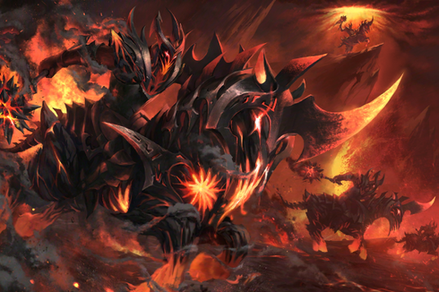 Buy & Sell Burning Nightmare Loading Screen