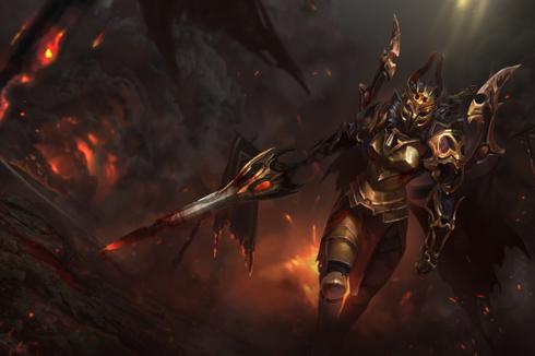 Buy & Sell Daemonfell Flame Loading Screen