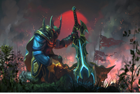 Arms of Rising Fury Loading Screen