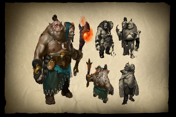 Buy & Sell Envisioning Ogre Magi Loading Screen