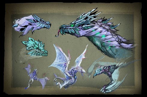 Buy & Sell Envisioning Winter Wyvern Loading Screen
