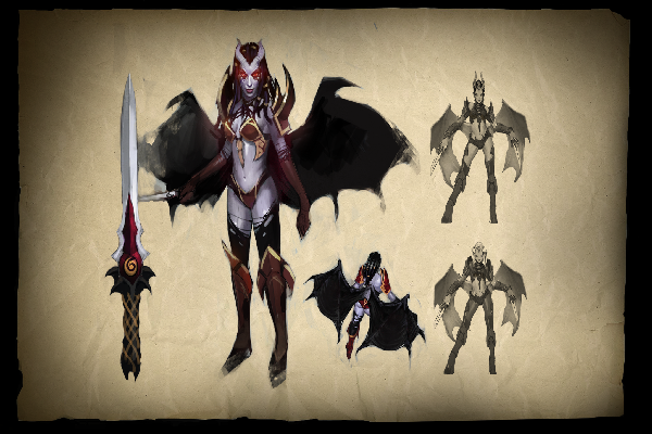 Buy & Sell Envisioning Queen of Pain Loading Screen