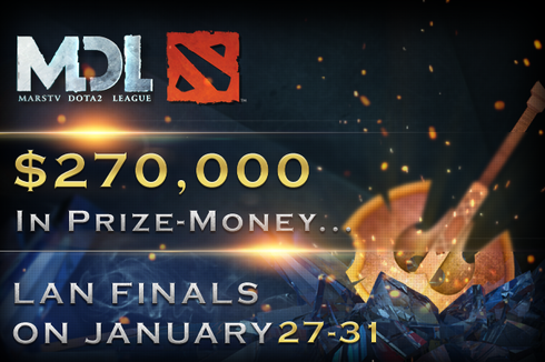 2015 MarsTV Dota 2 League Prices