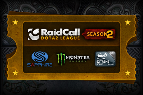 Buy & Sell RaidCall Dota 2 League Season 2
