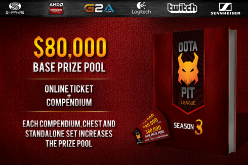 Dota Pit League Season 3 Price
