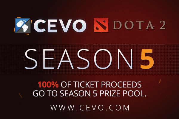 CEVO Season 5 Ticket Prices