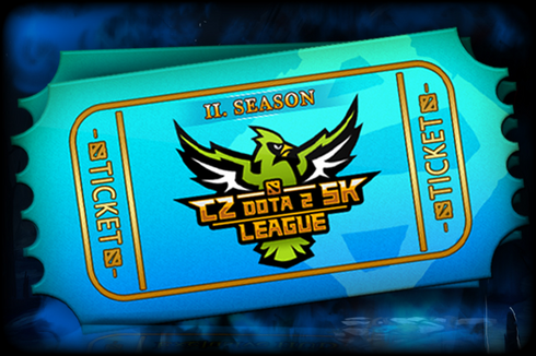 CZ-SK Dota 2 League Season 2 Ticket Prices