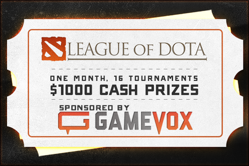 Buy & Sell Self-Made League of Dota Season 6 Ticket