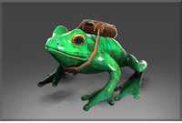 Auspicious Skip the Delivery Frog
