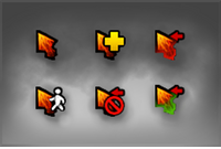 Genuine DAC 2015 Chaos Knight Cursor Pack