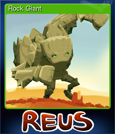 Rock Giant (Trading Card)