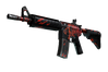 StatTrak™ M4A4 | Howl (Well-Worn)