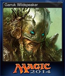 Garruk Wildspeaker (Trading Card)