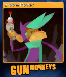 Explorer Monkey (Trading Card)