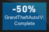 50% OFF Grand Theft Auto IV: Complete