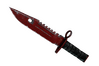 ★ StatTrak™ M9 Bayonet | Crimson Web (Well-Worn)