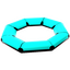 Light Blue Life Raft