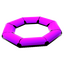 Purple Life Raft