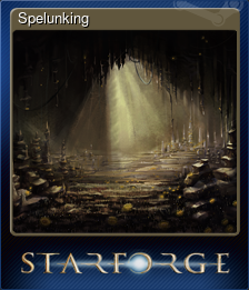 Spelunking (Trading Card)