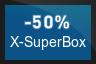 50% OFF X-SuperBox