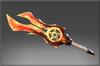 Inscribed Fallen Sword