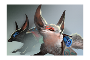 Jin and Yin Fox Spirits