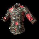 Floral Shirt (Black)
